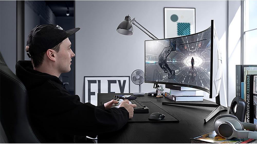 Il monitor gaming Odissey G9 in offerta sullo store Samsung