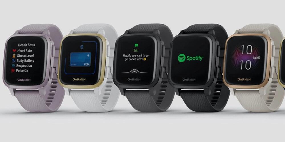 Gli smartwatch Venu Sq e Venu Sq Music Edition di Garmin