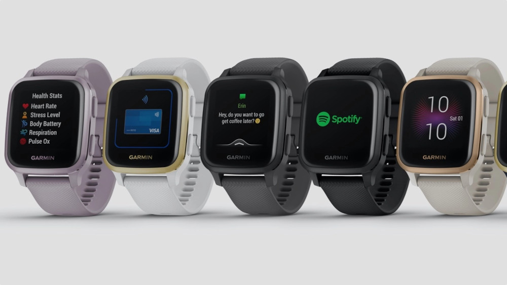 Gli smartwatch Venu Sq e Venu Sq Music Edition di Garmin