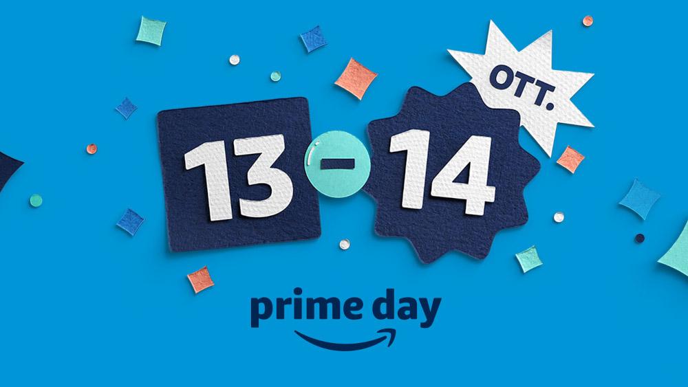Amazon: Prime Day torna il 13 e 14 ottobre con grandi offerte su tutti i prodotti