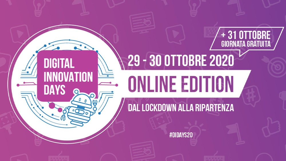 Gli speaker e il programma di Digital Innovation Days