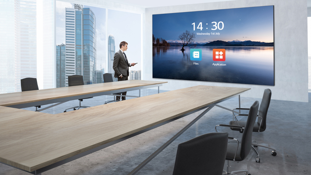 "Il nuovo LED Screen da 136"" di LG"