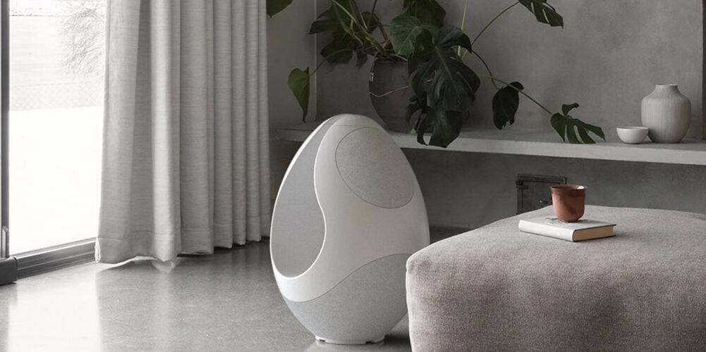 Pantheone I: la scultura minimalista che diffonde musica per tutta la casa