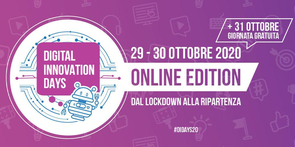 Digital Innovation Days 2020: TraMe&Tech media partner dell'evento