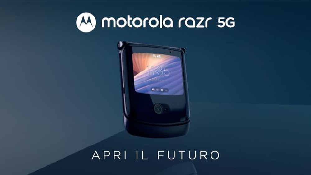 Motorola annuncia l'arrivo del razr 5G