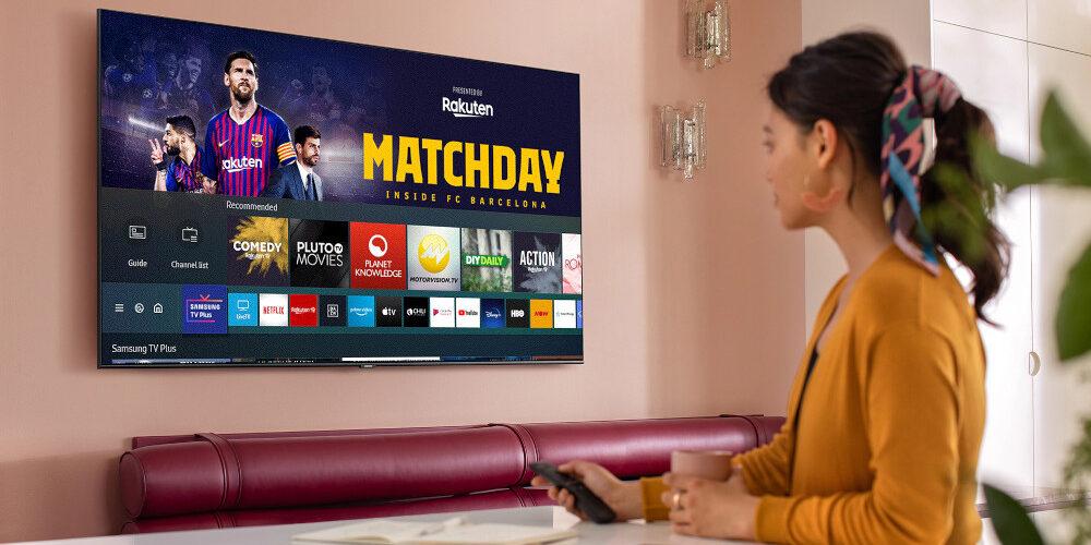 L'aggiornamento di Samsung TV Plus