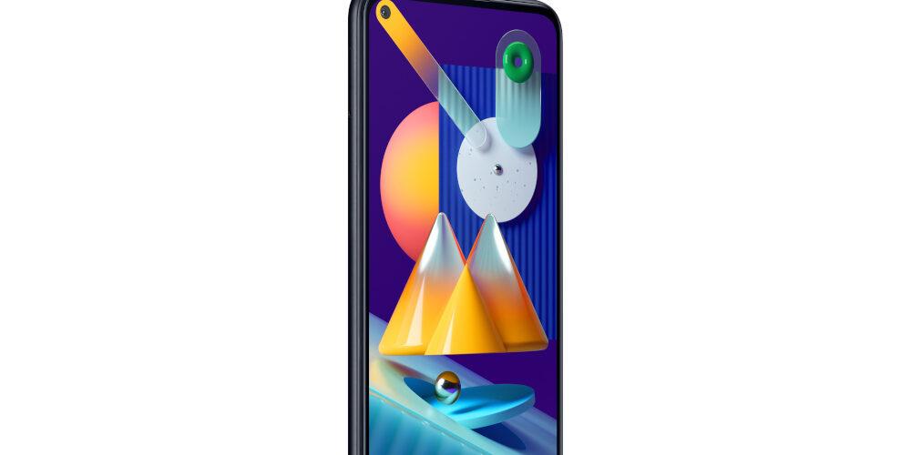 Lo smartphone Galaxy M11 di Samsung