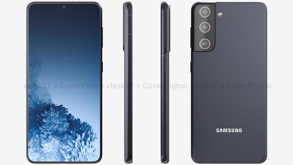 Samsung Galaxy S21: ecco le prime immagini