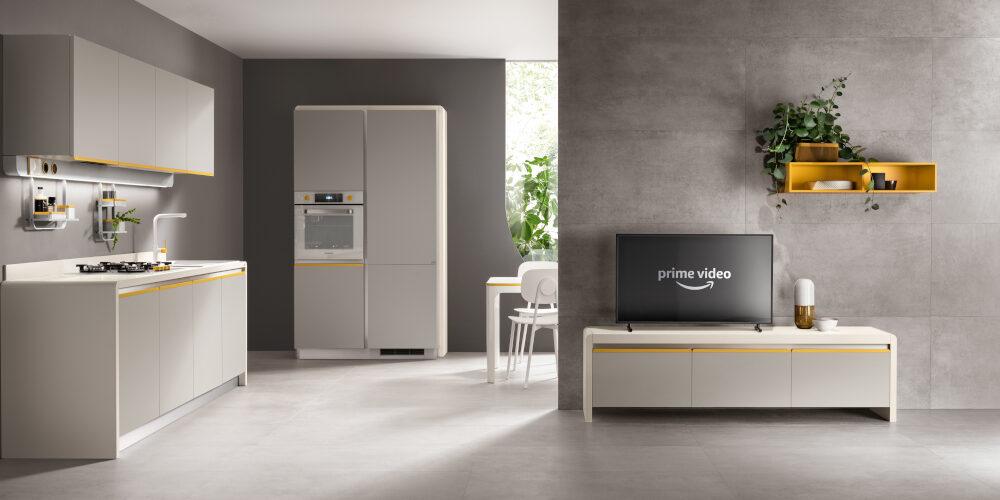Scavolini: ecco Dandy Plus con Alexa, design by Fabio Novembre