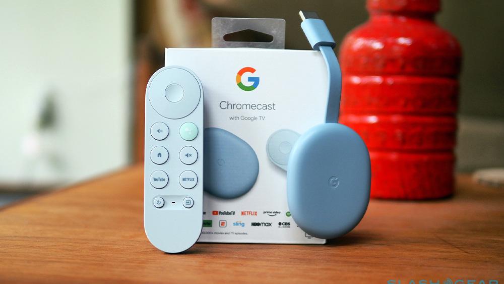 Il nuovo Chromecast di Google con il telecomando