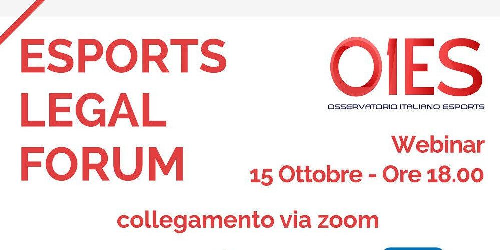 L'Esports Legal Forum organizzato da OIES