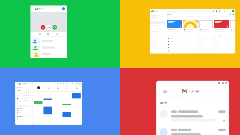 La nuova user experience di Google Workspace