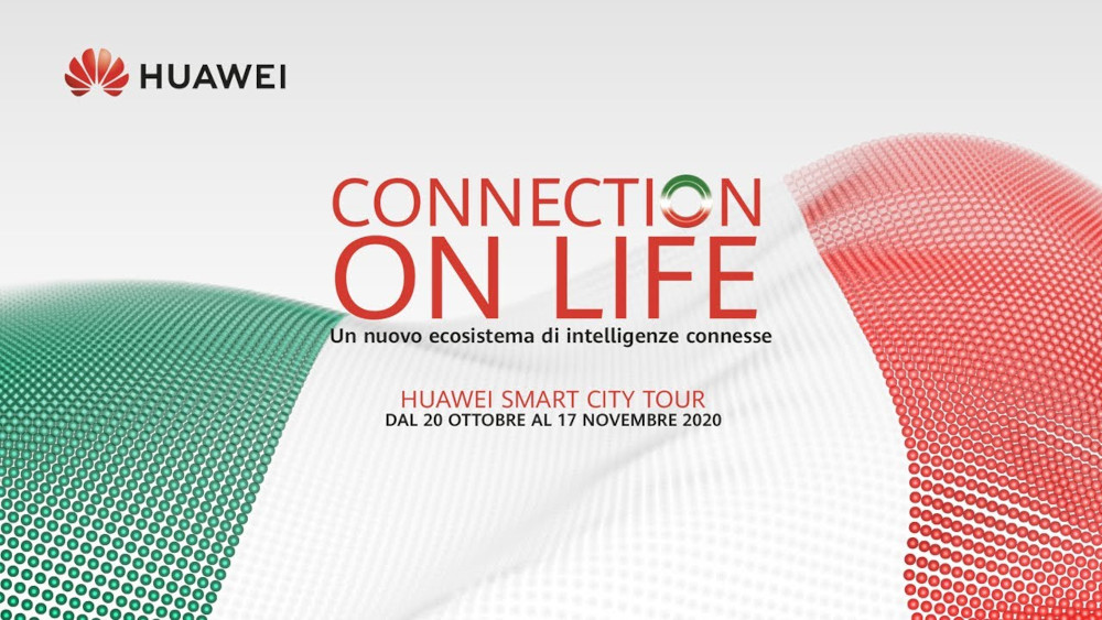 In partenza il Huawei Smart City Tour 2020