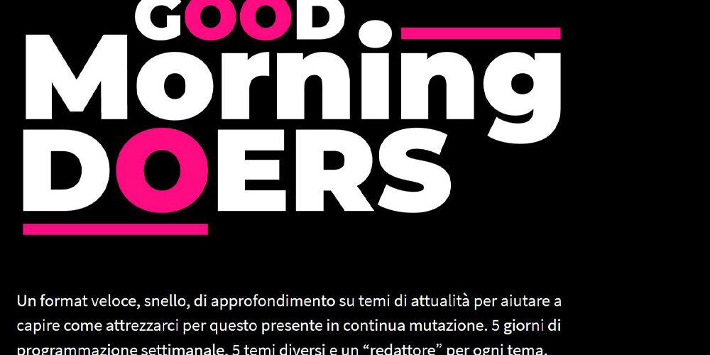 Nasce Good Morning Doers, la rassegna stampa di Rinascita Digitale