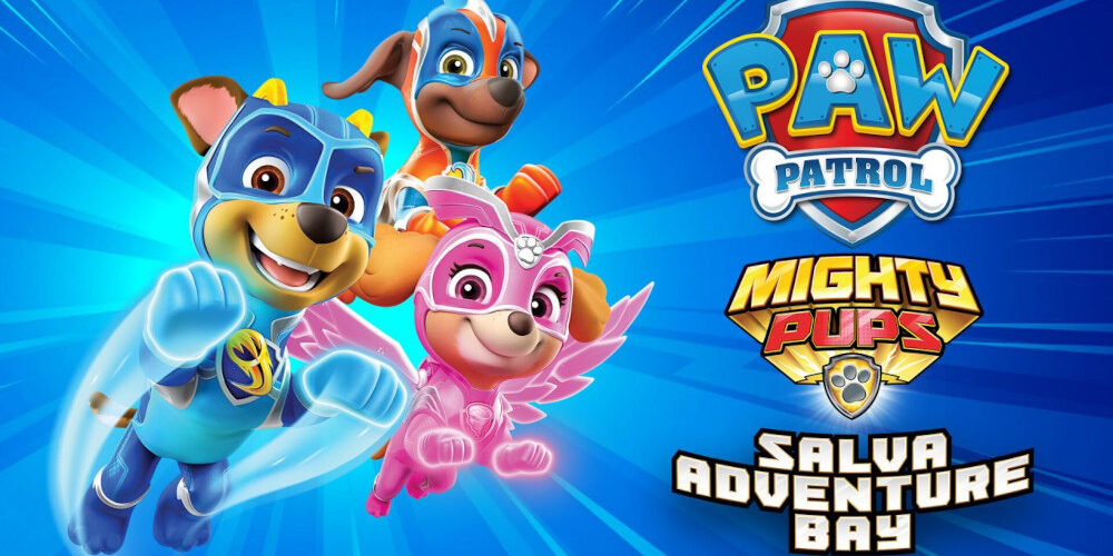 PAW Patrol: Mighty Pups salva Adventure Bay