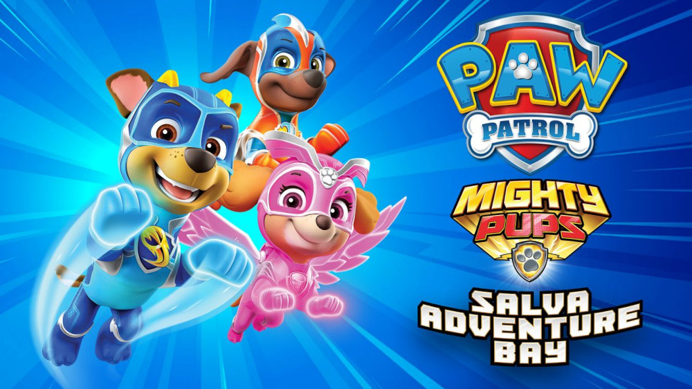 PAW Patrol: Mighty Pups salva Adventure Bay