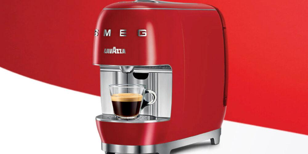 La macchina per il caffè Lavazza A Modo Mio SMEG