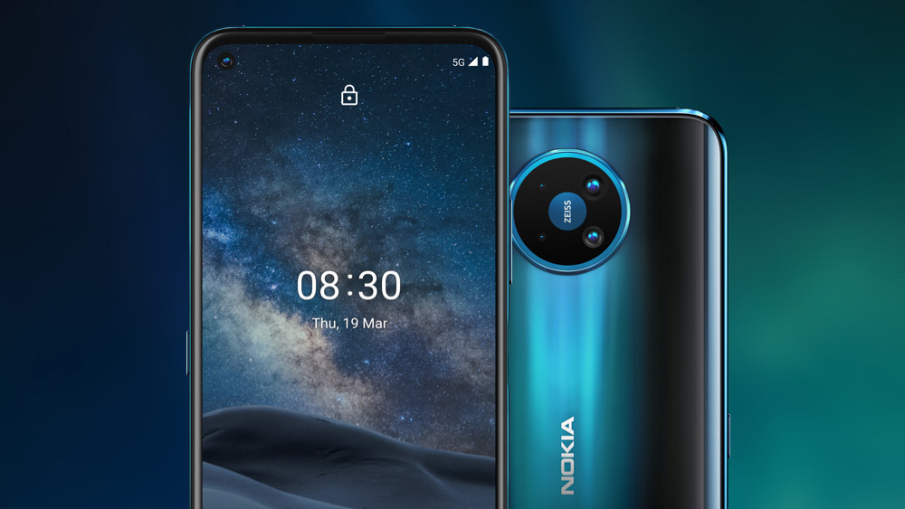 Lo smartphone Nokia 8.3 5G