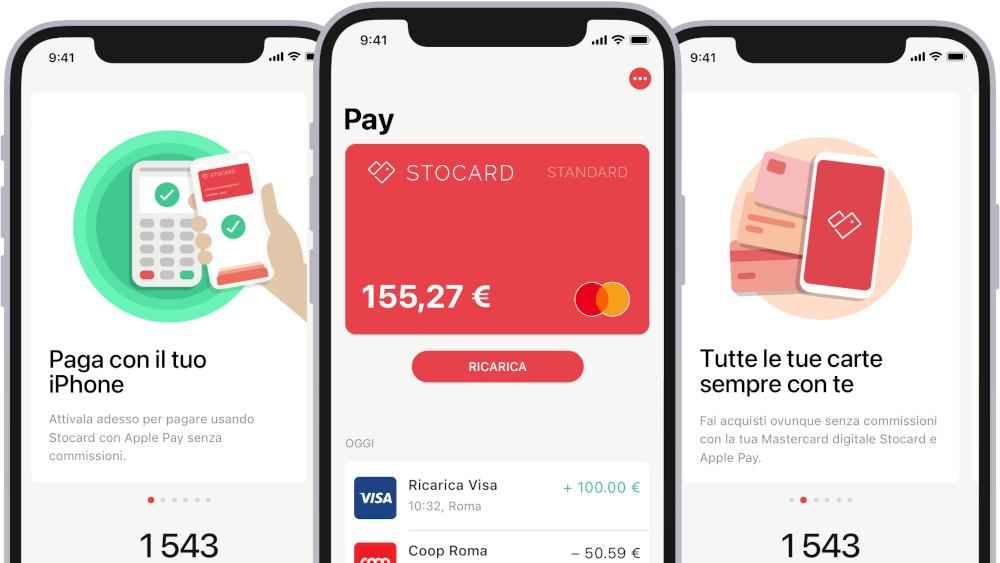 La funzione di pagamento Stocard Pay