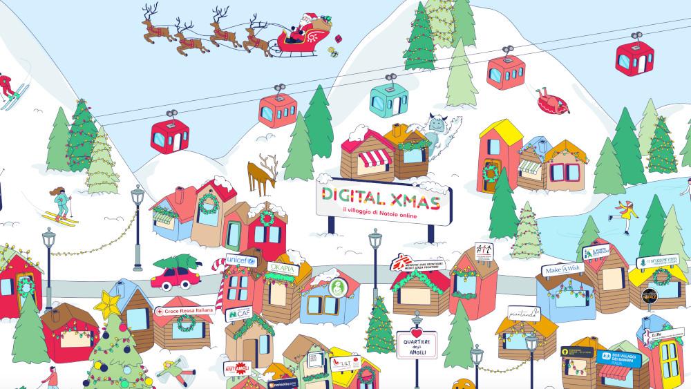 Digital Xmas, il Villaggio di Natale online