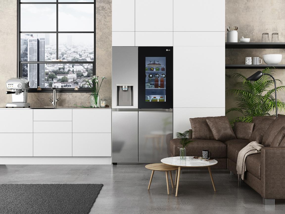Al CES 2021 i nuovi frigoriferi LG InstaView