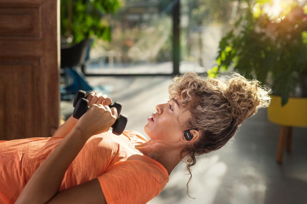 <div>Le cuffie per gli sportivi di Philips TV & Sound</div>