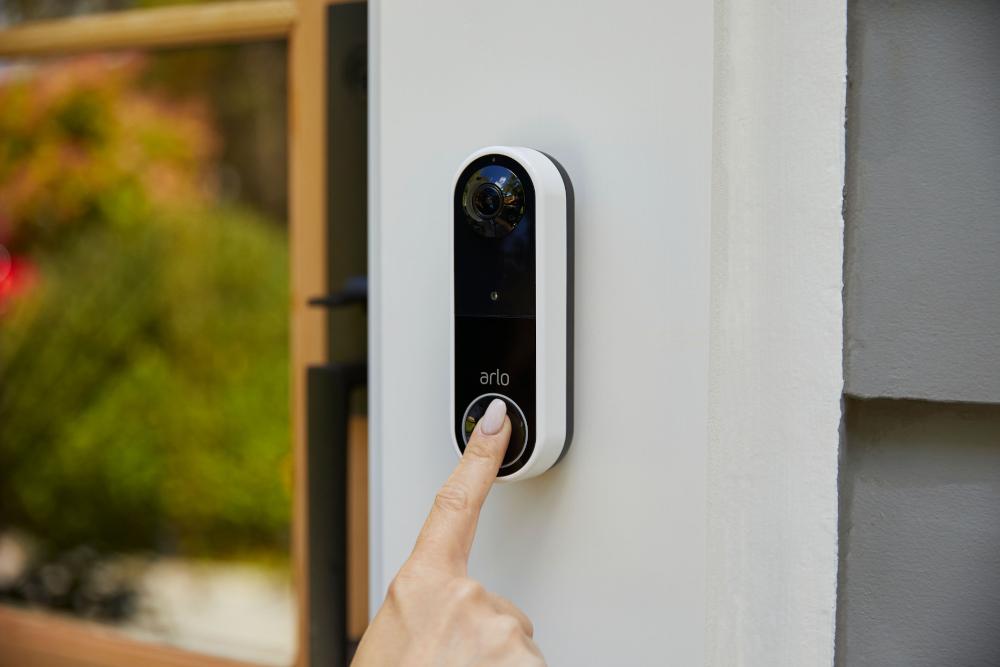 Il campanello wireless Arlo Essential Video Doorbell