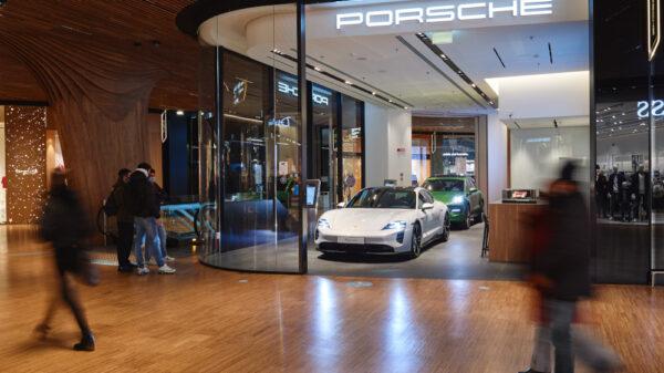 Porsche evid