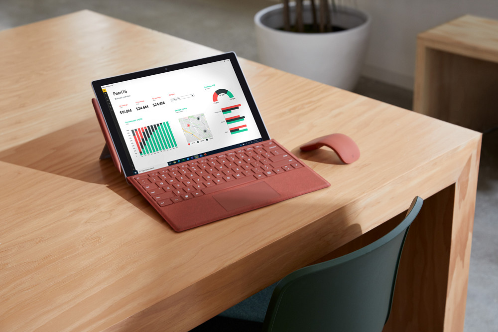 Microsoft: ecco Surface Pro 7+ for Business