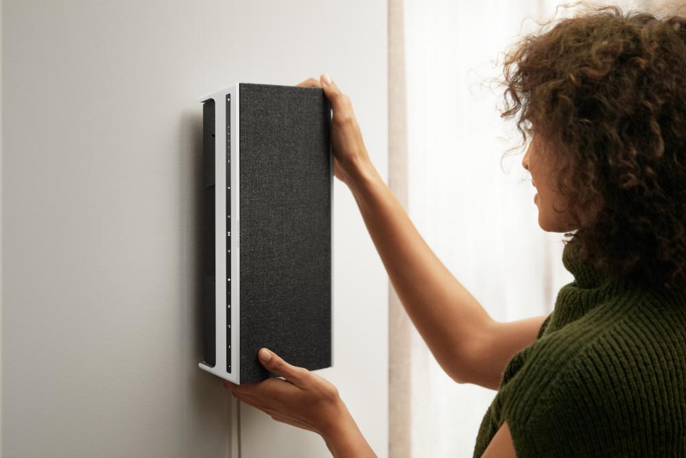 <div>L'home speaker Beosound Level di Bang & Olufsen</div>