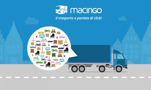 "Macingo, il ""BlaBla Car"" dei trasporti merci ingombranti"