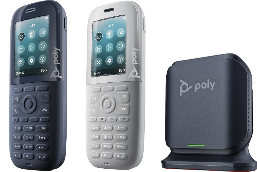 I telefoni wireless con tecnologia antimicrobica Microban di Poly