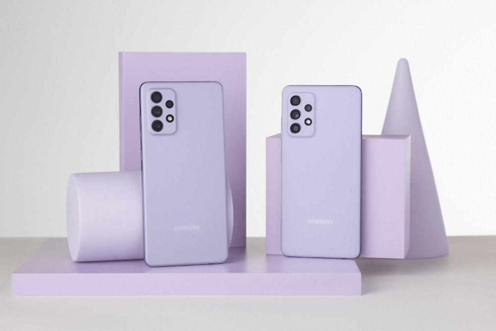 I nuovi Samsung Galaxy A52, A52 5G e A72