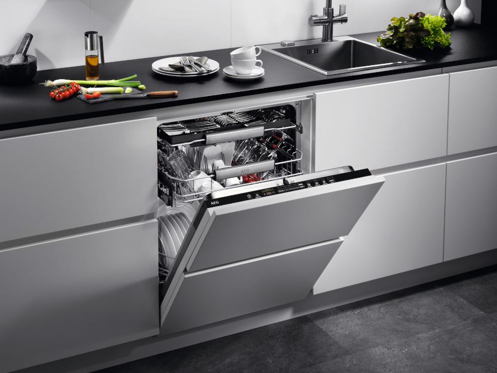 La lavastoviglie ProClean di AEG con l'interfaccia QuickSelect