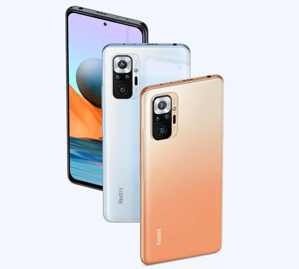 La famiglia Redmi Note 10 di Xiaomi
