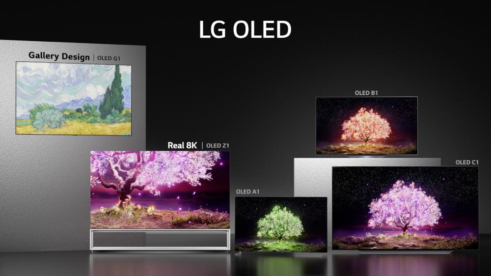 I nuovi modelli della gamma LG TV 2021