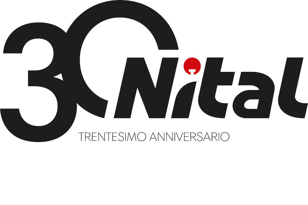 Il nuovo logo di Nital per i suoi 30 anni