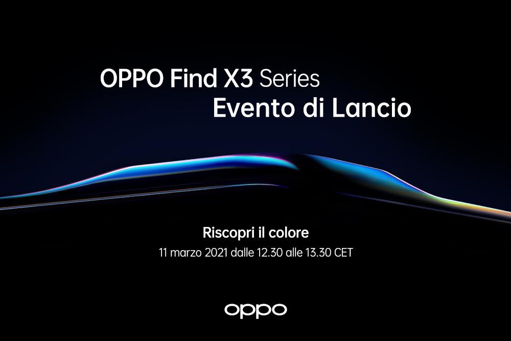 OPPO è pronta a lanciare lo smartphone Find X3 Pro