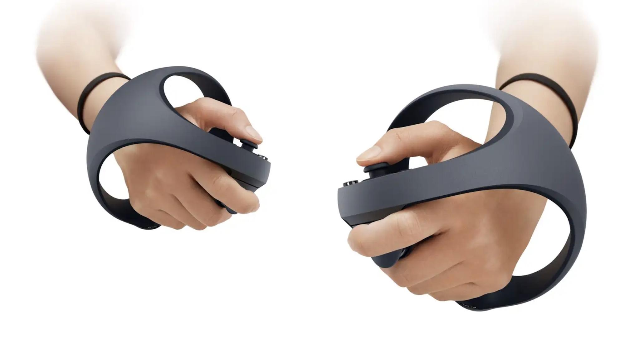 Come saranno i nuovi controller VR per la PS5