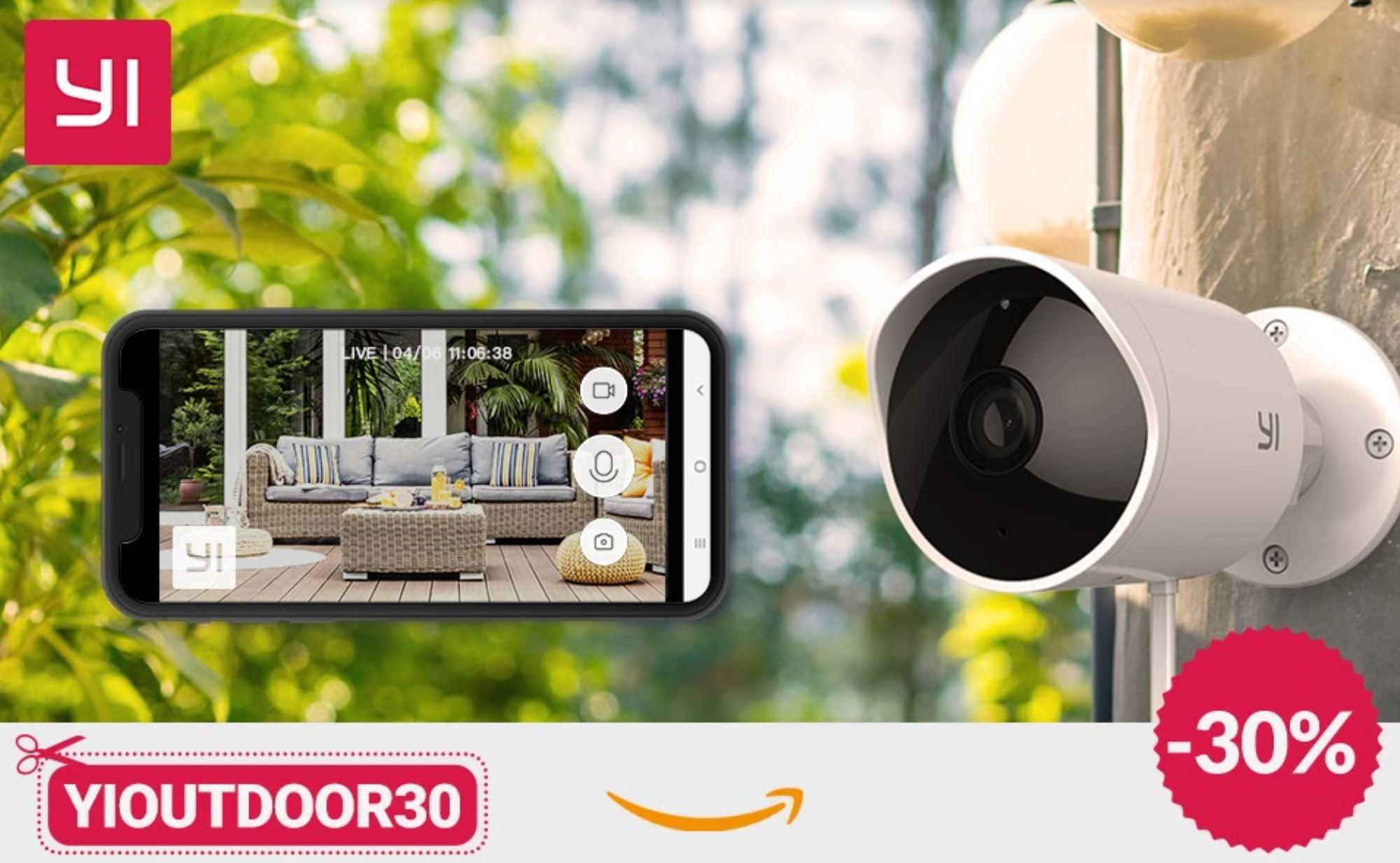 Yi Outdoor Camera 1080 con il 30 per cento di sconto