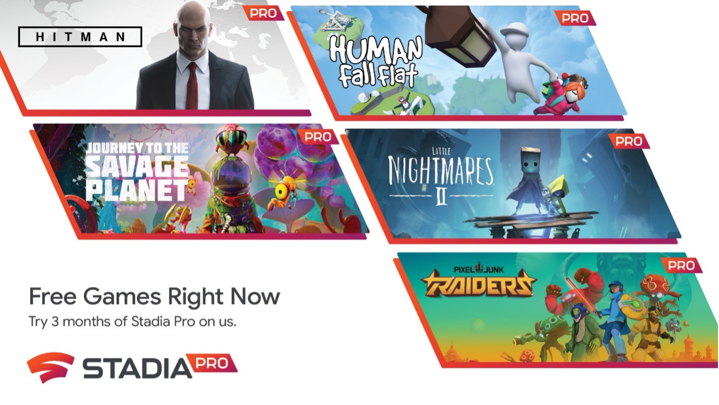 Lenovo offre tre mesi di Google Stadia sui Pc da gaming
