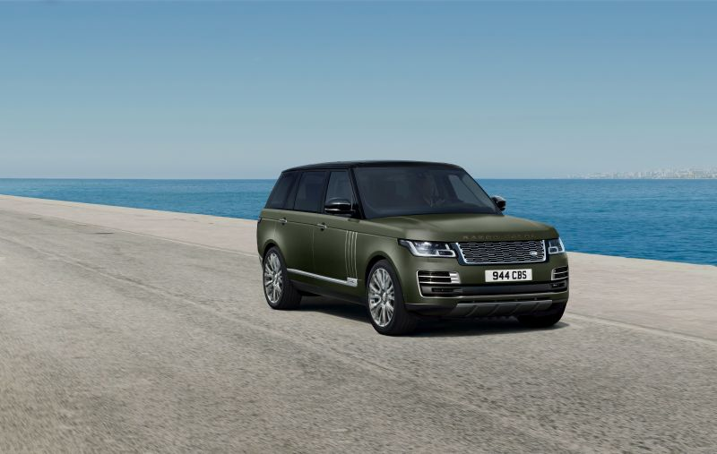 Nuove edizioni della Range Rover SVAutobiography ultimate