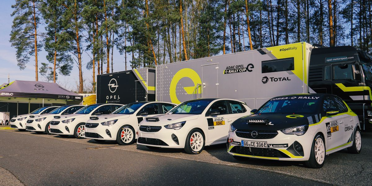 Consegnate ai team le prime Opel Corsa-e Rally