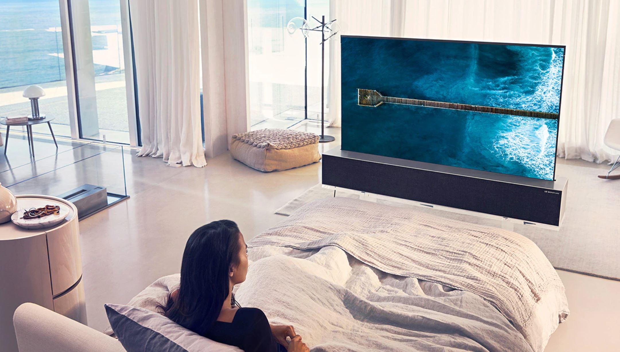 LG TV schermo arrotolabile