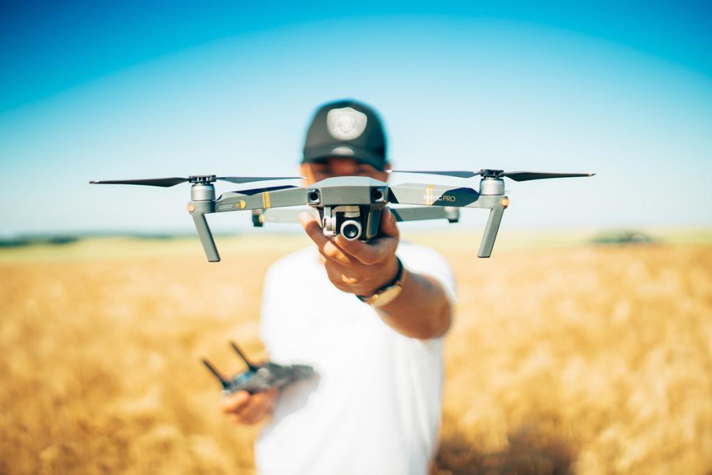 Videoriprese coi droni: il webinar gratuito su RDWC