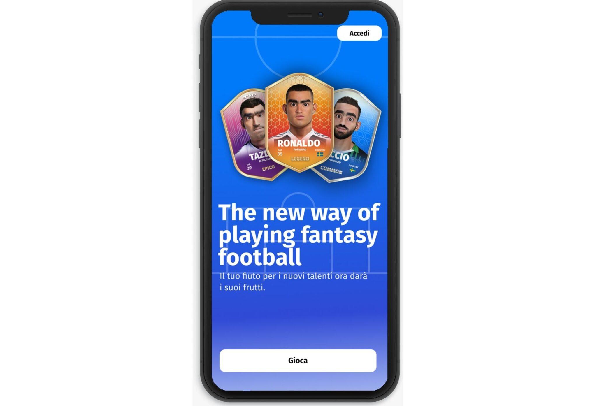 Ipermatch, il gioco online che unisce calcio e fintech