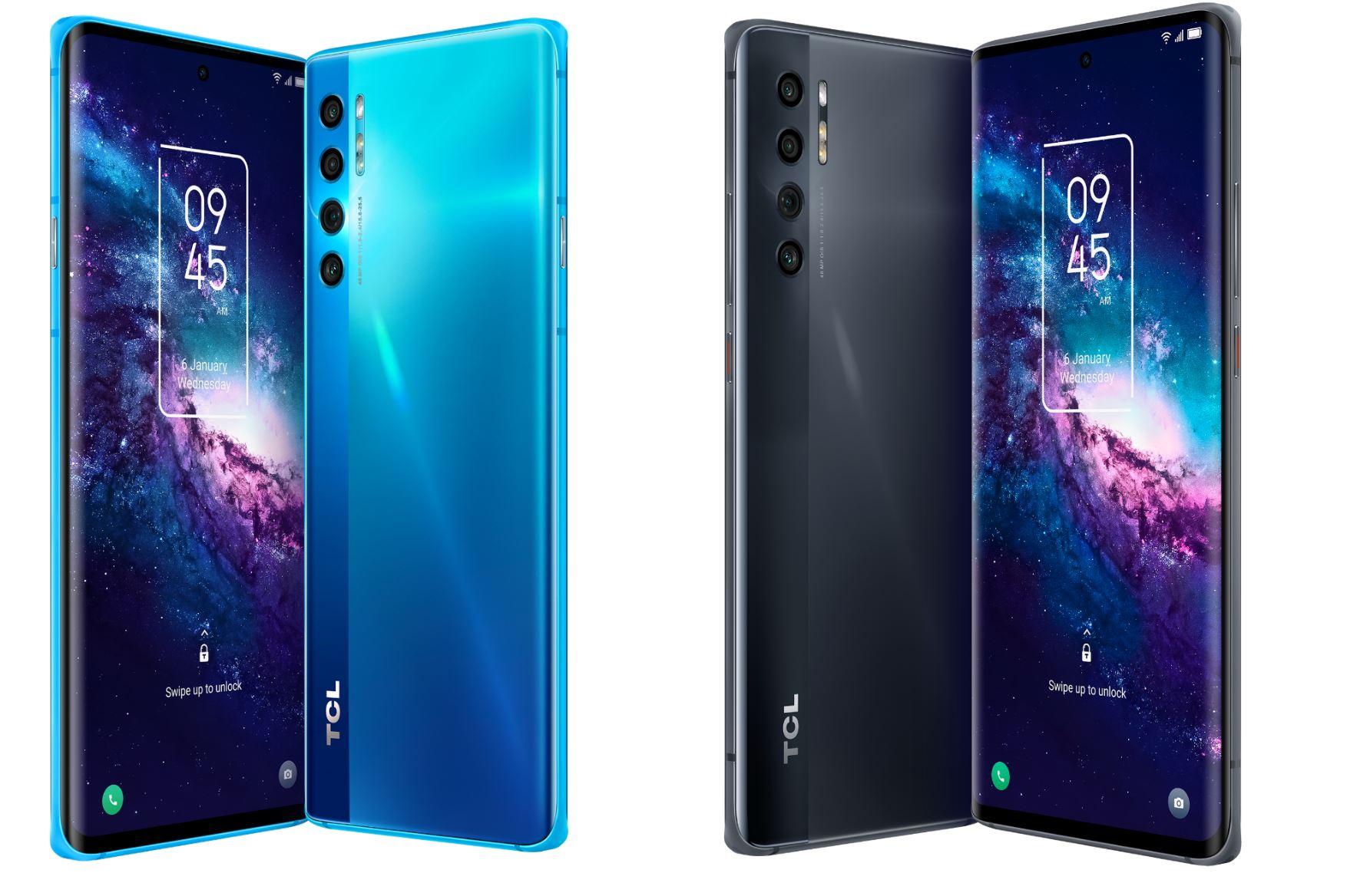 Il tre nuovi smartphone della Serie 20 di TCL