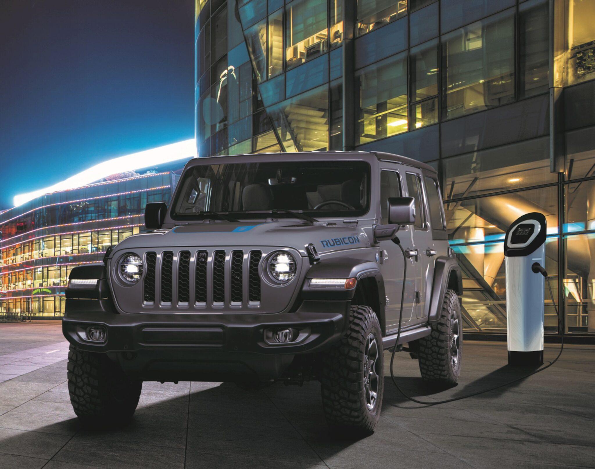 Al via gli ordini della Jeep Wrangler 4xe plug-in hybrid