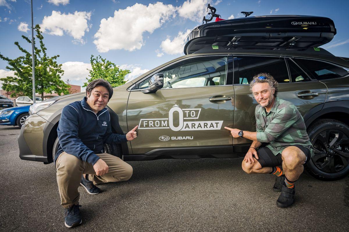 "Subaru Outback accompagnerà Nico Valsesia in ""From 0 to Ararat"""