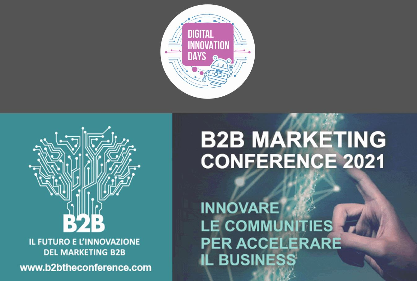 Didays alla B2B Marketing Conference: la promo per il biglietto